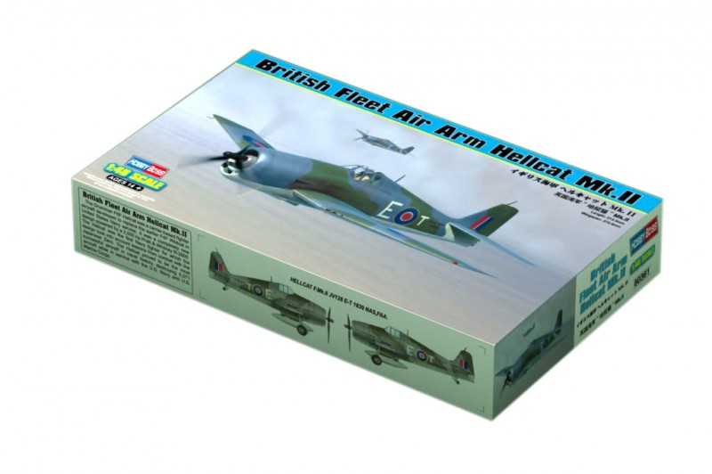 British Fleet Air Arm Hellcat Mk.II - HOBBY BOSS 80361