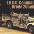 British L.R.D.G. Command Car & Breda 20mm AA Gun - Tamiya 89785