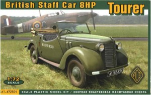 British Staff Car Tourer 8HP - Ace Models 72501