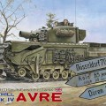 A brit gyalogság tartály Churchill MK IV AVRE - alternatív üzemanyag ok Klub 35169