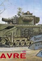 Brittiska infanteriet tank Churchill MK IV AVRE - AFV Club 35169