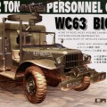 Dodge WC-63 6X6 Personnel Carrier Truck - AFV Club 35S18