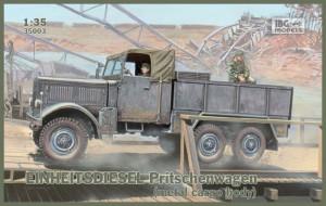 Enota dizelski tovornjak tovorna ploščad - IBG 35003