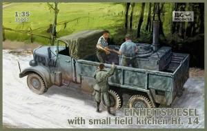 Einheitsdiesel with small field kitchen Hf.14 - IBG 35007