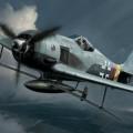 Focke 울프 FW190A-8BV246Hagelkorn Limited Edition-Hasegawa01984