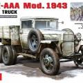 GAZ-AAA Mod. Nel 1943. Cargo Truck - Mini Tipo 35133