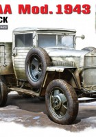 GAZ-AAA Mod. 1943. Caminhão De Carga - MiniArt 35133
