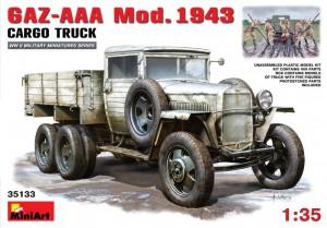 GAZ-AAA Mod. 1943. Camion De Cargaison - MiniArt 35133