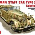 DEUTSCHE PKW-TYP 170 V Cabriolet B - MINIART 35107