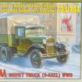 Gaz-AAA truck - Zvezda 3547