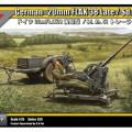 Německý 20mm FLAK 38 Pozdě / Sd.Ah.51 - TRISTAR 35029
