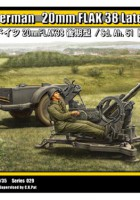German 20mm FLAK 38 Late / Sd.Ah.51 - TRISTAR 35029