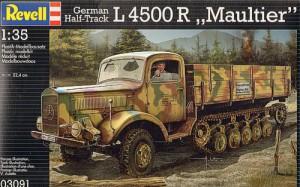 Немски полугусеничный L4500R Maultier-Revell 03091