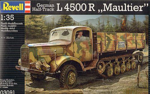 Niemiecki half-track L4500R Maultier - Ревелл 03091