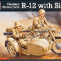 Tysk Mc-R-12 - Sidovagn Crew - Revell 03090