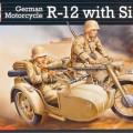 Moto Allemande R-12 - Sidecar De L'Équipage - Revell 03090