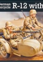 Немски Мотоциклет Р-12 - Кош Екипаж - Revell 03090