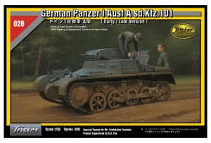 Saksa Panzer I Ausf A sd.Auto.101 - TRISTAR 35028