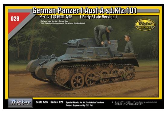 German Panzer I Ausf A sd.Kfz.101 - TRISTAR 35028