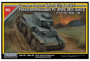 Vokiečių Panzer Kpfw.38(t) Ausf.G - TRISTAR 35022