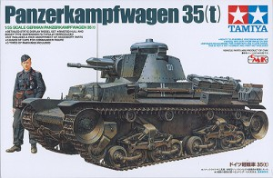 German Panzerkampfwagen 35(t) - Tamiya 25112