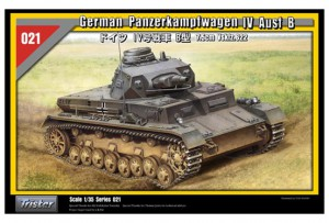 Tyske Panzerkampfwagen IV Ausf B - TRISTAR 35021