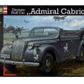 German Staff Car Admiral Cabriolet - Revell 3099