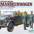 Saksa Steyr 1500A Kommandeurwagen - Tamiya 25149