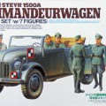 Немецкий Штайр 1500А Kommandeurwagen - Тамия 25149