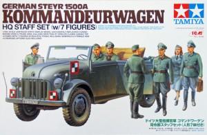German Steyr 1500A Kommandeurwagen - Tamiya 25149