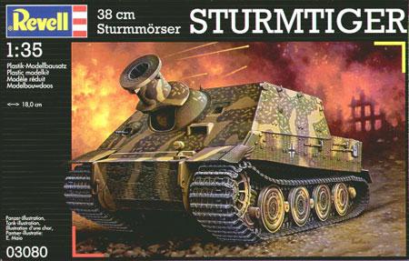 Duitse Sturmtiger - Revell 03080