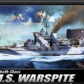 H.M.S. WARSPITE - ACADEMY 14105