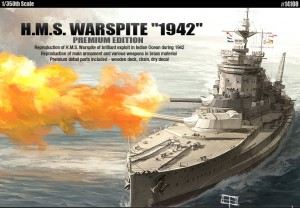 H. M. S. Warspite 1942 Premium Edition - AKATEMIAN 14108