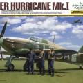 Hawker Hurricane Mk.Jsem w/3 Postavy - Tamiya 37011
