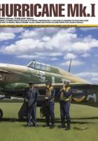 Хоукер Hurricane Mk.Ja W/3 figurki - Tamiya 37011