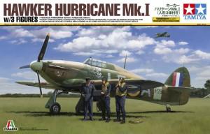 Hawker Hurricane Mk.Jeg w/3 Tall - Tamiya 37011