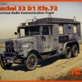 Henschel 33D1 Automobile.72 Radio Communication Truck - ICM 35467