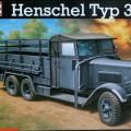 Henschel Typ 33D1 truck - Revell 03098