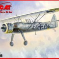 Hs 126B-1 WWII saksa Luure Lennuk - ICM 48212