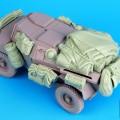 Humber Scout Car Mk i tilbehør til sæt - Sort Hund T35069