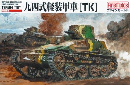 IJA Type94 Ľahké Obrnené Auto TK - Výtvarné Formy FM17