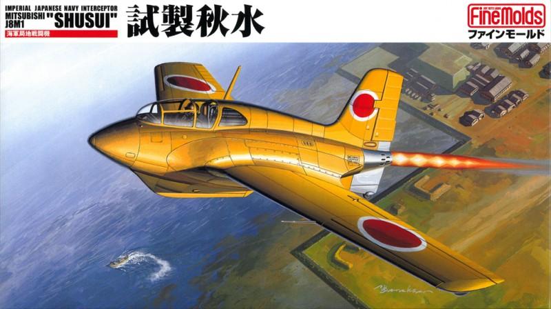 IJN Torjuntahävittäjä Mitsubishi J8M1 SHUSUI - Hieno Muotit FB6