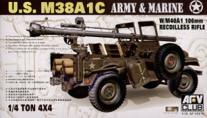 Jeep M38 w/106 mm Pistol - AFV Club 35S19