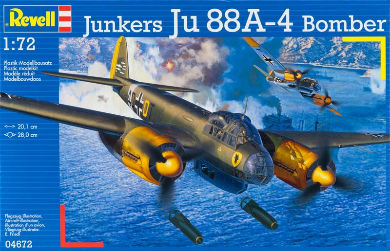 Junkers Ju88 A-4 Bombardier - Revell 4672