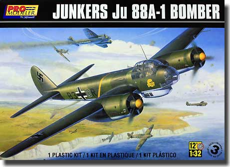 Junkers Ju88A-1 Bombefly - Revell 5986