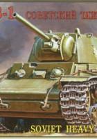KV-1 Radziecki Czołg Ciężki Zvezda 3539