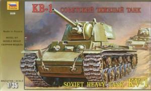 KV-1 sowjetischer Schwerer Panzer - Zvezda 3539