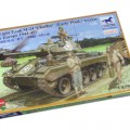 M-24 Chaffee Light Tank w/Posadke Set - Bronco CB35069