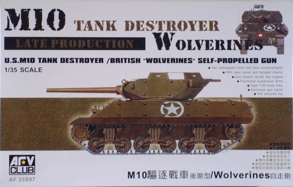 M10A1 Tank Destroyer - Version Tardive - AFV Club 35S07