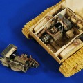 M24 Chaffee Engine and Compartment ( Bronco) - Verlinden 2728